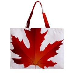 Autumn Maple Leaf Clip Art Zipper Mini Tote Bag by BangZart