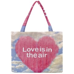Love Concept Poster Design Mini Tote Bag by dflcprints