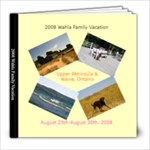 2008 Upper Peninsula and Wawa Picture Book - 8x8 Photo Book (20 pages)