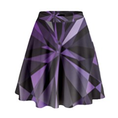 Amethyst High Waist Skirt by BangZart