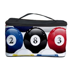 Racked Billiard Pool Balls Cosmetic Storage Case by BangZart
