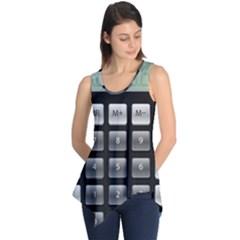 Calculator Sleeveless Tunic