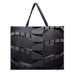 Tire Zipper Large Tote Bag by BangZart