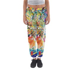 Multicolor Anime Colors Colorful Women s Jogger Sweatpants by BangZart
