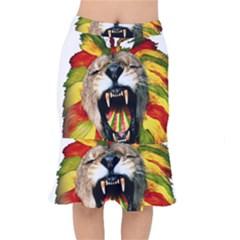 Reggae Lion Mermaid Skirt