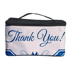 Thank You Cosmetic Storage Case by BangZart