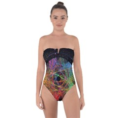 The Art Links Pi Tie Back One Piece Swimsuit
