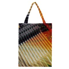 Technology Circuit Classic Tote Bag by BangZart