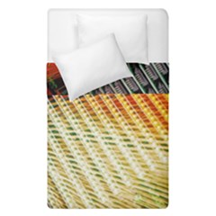 Technology Circuit Duvet Cover Double Side (single Size) by BangZart