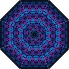 Skull Pattern Wallpaper Straight Umbrellas by BangZart
