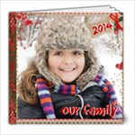 2014-Family - 8x8 Photo Book (20 pages)