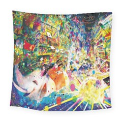 Multicolor Anime Colors Colorful Square Tapestry (large) by BangZart