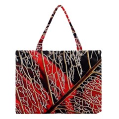 Leaf Pattern Medium Tote Bag by BangZart