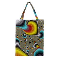 Fractals Random Bluray Classic Tote Bag by BangZart