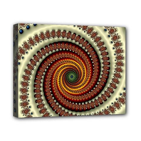 Fractal Pattern Canvas 10  X 8  by BangZart