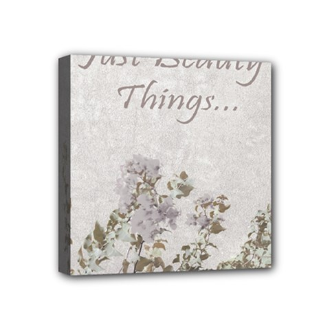 Shabby Chic Style Motivational Quote Mini Canvas 4  X 4  by dflcprints