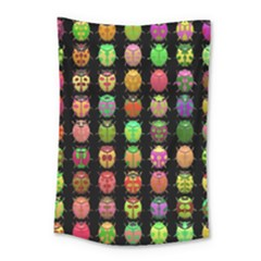 Beetles Insects Bugs Small Tapestry by BangZart