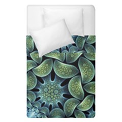 Blue Lotus Duvet Cover Double Side (single Size) by BangZart