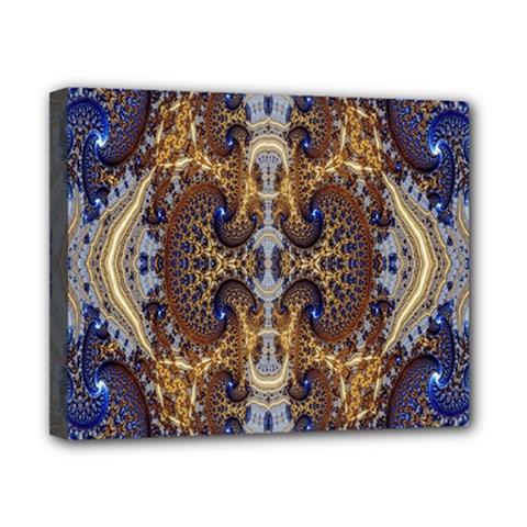 Baroque Fractal Pattern Canvas 10  X 8  by BangZart