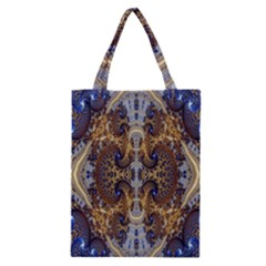 Baroque Fractal Pattern Classic Tote Bag by BangZart