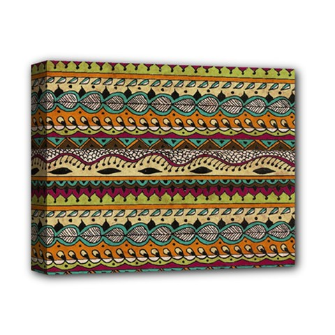Aztec Pattern Ethnic Deluxe Canvas 14  X 11  by BangZart