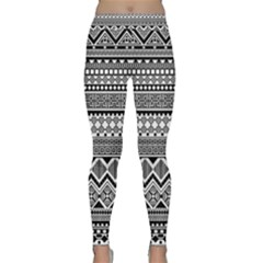 Aztec Pattern Design Classic Yoga Leggings