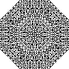 Aztec Design  Pattern Hook Handle Umbrellas (large) by BangZart