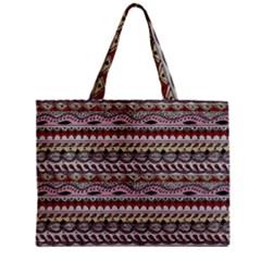 Aztec Pattern Art Zipper Mini Tote Bag by BangZart