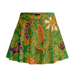 Art Batik The Traditional Fabric Mini Flare Skirt by BangZart