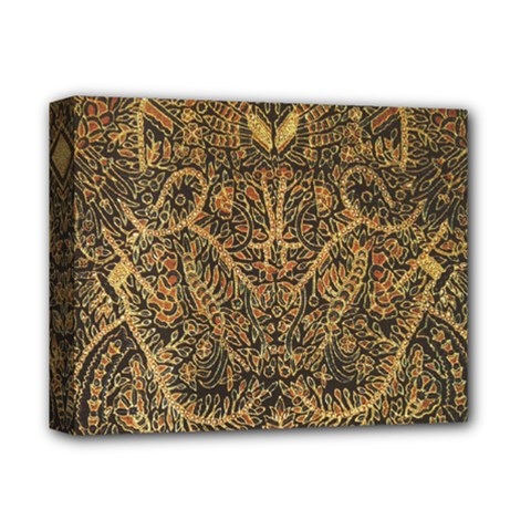 Art Indonesian Batik Deluxe Canvas 14  X 11  by BangZart