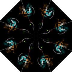 Gas Mask Straight Umbrellas by Valentinaart