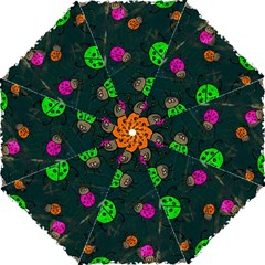 Abstract Bug Insect Pattern Folding Umbrellas by BangZart