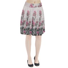Shabby Chic Style Floral Photo Pleated Skirt by dflcprintsclothing