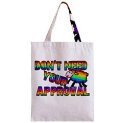 Dont Need Your Approval Classic Tote Bag by Valentinaart