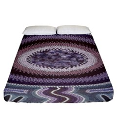Spirit Of The Child Australian Aboriginal Art Fitted Sheet (king Size)