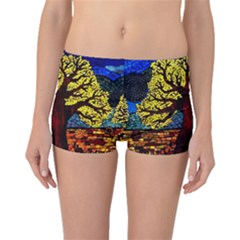 Tree Of Life Boyleg Bikini Bottoms