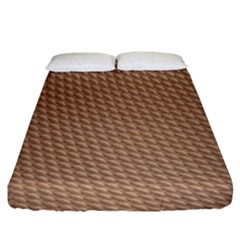 Tooling Patterns Fitted Sheet (king Size)
