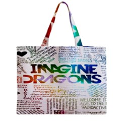 Imagine Dragons Quotes Medium Tote Bag by BangZart