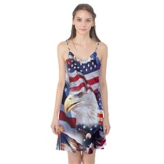 United States Of America Images Independence Day Camis Nightgown by BangZart