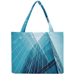Glass Bulding Mini Tote Bag by BangZart