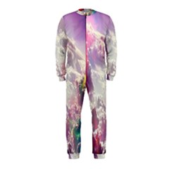 Clouds Multicolor Fantasy Art Skies Onepiece Jumpsuit (kids) by BangZart