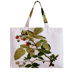 Berries Berry Food Fruit Herbal Zipper Mini Tote Bag by Nexatart