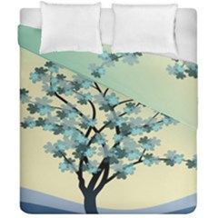 Branches Field Flora Forest Fruits Duvet Cover Double Side (california King Size) by Nexatart