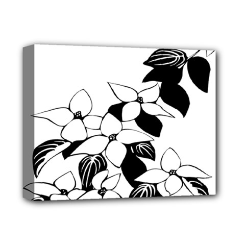 Ecological Floral Flowers Leaf Deluxe Canvas 14  X 11  by Nexatart