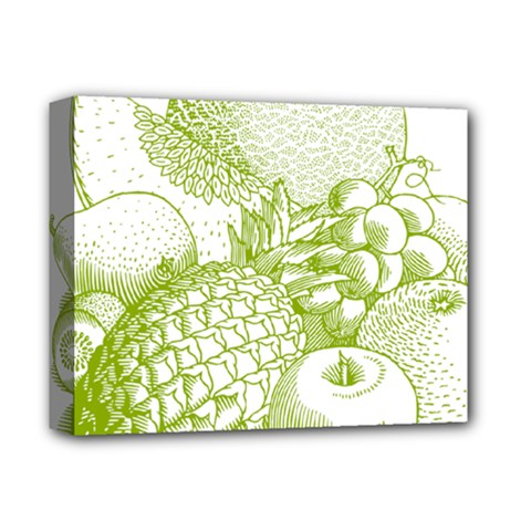 Fruits Vintage Food Healthy Retro Deluxe Canvas 14  X 11  by Nexatart