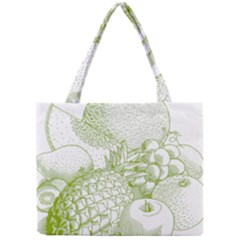 Fruits Vintage Food Healthy Retro Mini Tote Bag by Nexatart