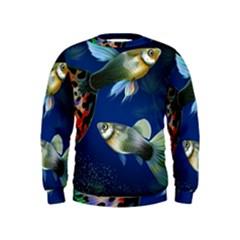 Marine Fishes Kids  Sweatshirt
