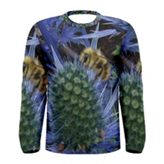 Chihuly Garden Bumble Men s Long Sleeve Tee