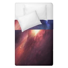 Digital Space Universe Duvet Cover Double Side (single Size) by BangZart