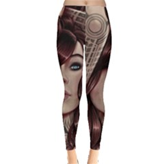 Beautiful Women Fantasy Art Leggings  by BangZart